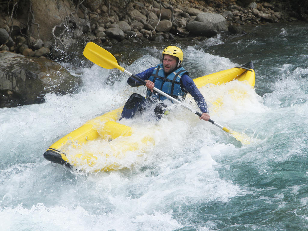 Canoa Raft pirineos