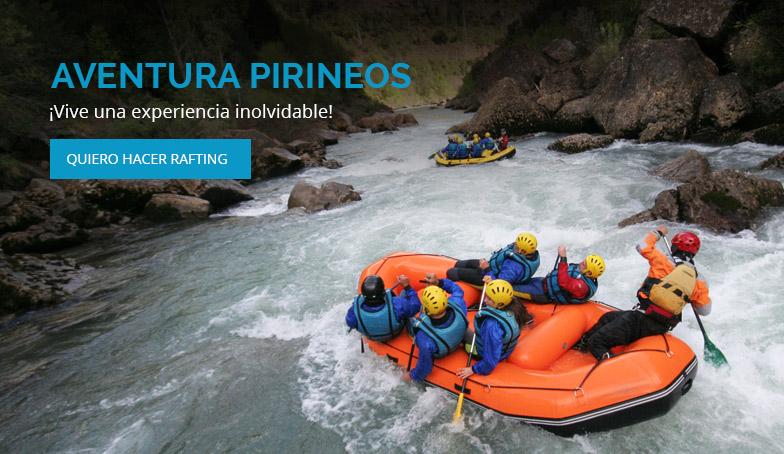 Rafting Aventura Pirineos benasque
